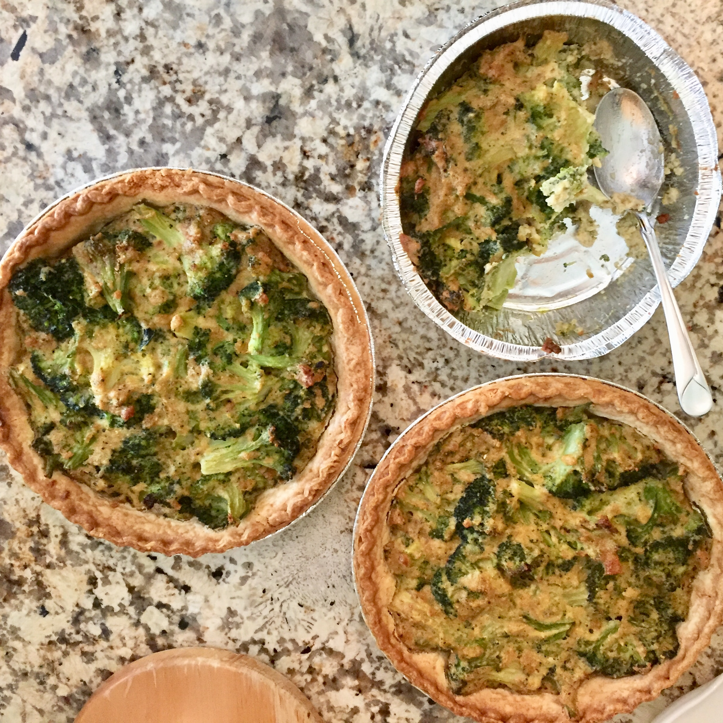 Weight Watchers Faux Broccoli Quiche Recipe