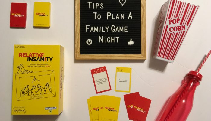 Tips to Plan a Family Game Night