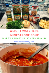 Foods to Feed Your Face and a Weight Watchers Minestrone Soup Recipe- Just two Smart Points per serving