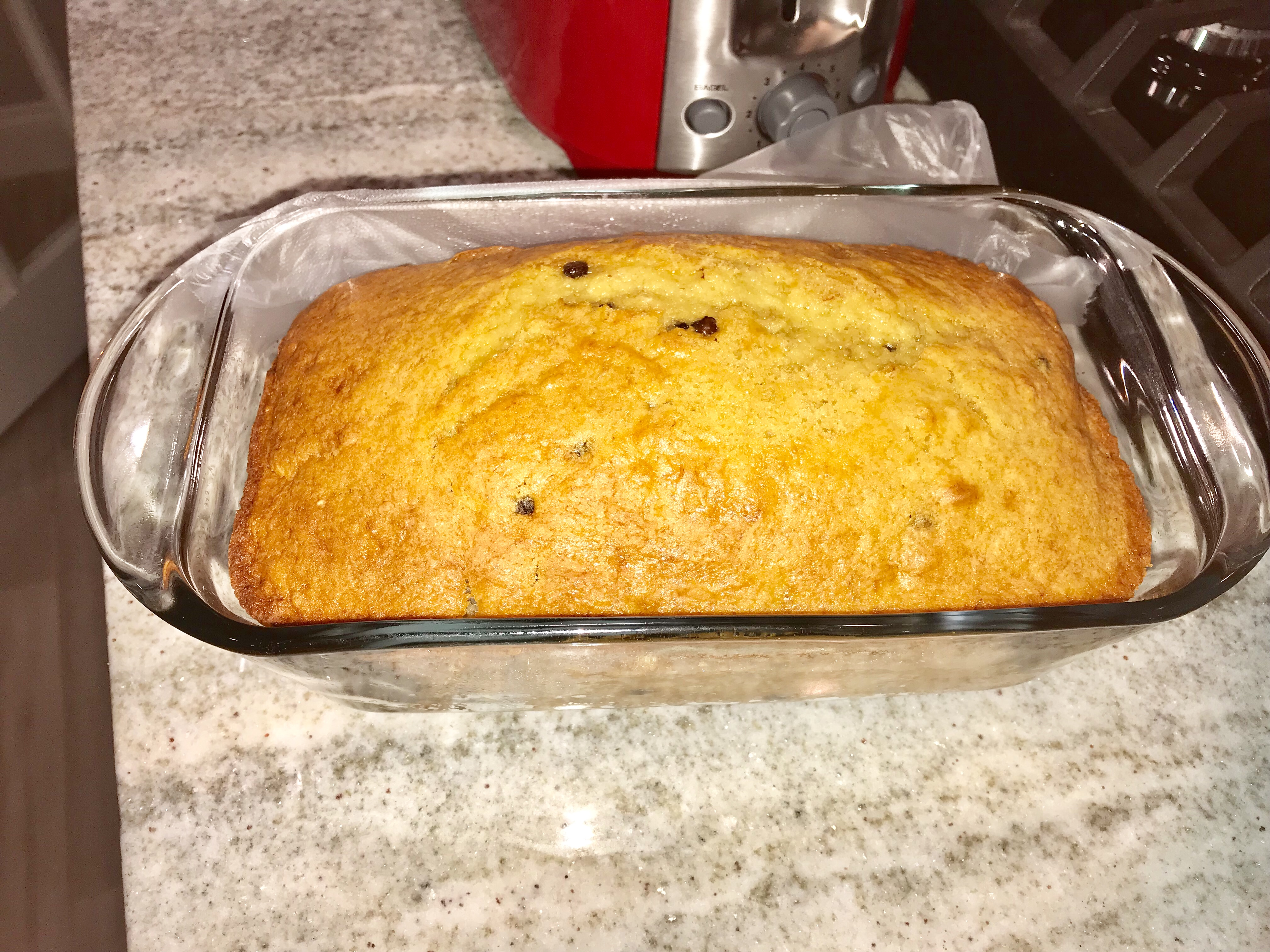 Weight Watchers Chocolate Chip Banana Loaf recipe serves 14 and is just six points per serving
