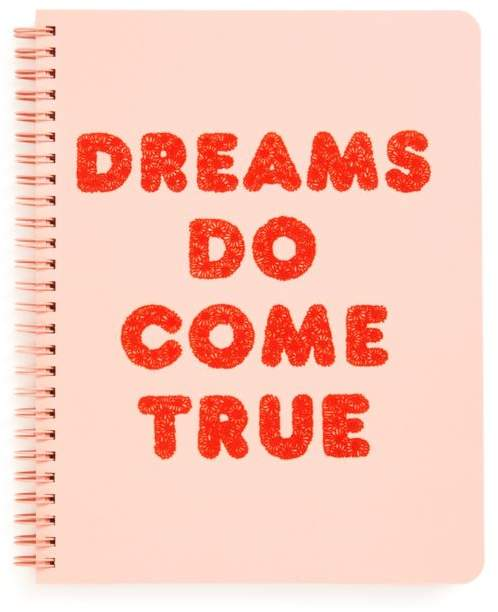 Sit down with a Dreams Do Come True ban.do Rough Draft Mini Notebook,  or at the laptop and start brainstorming what you love about your wonderful spouse