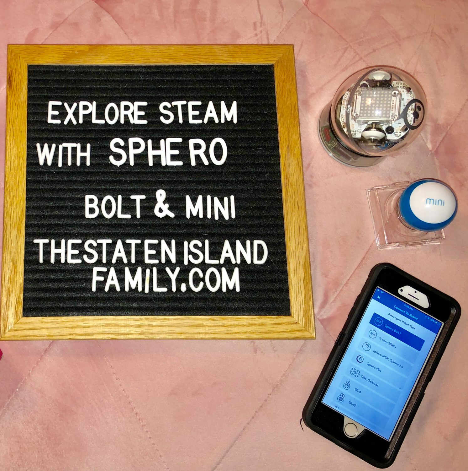 The STEAM Learning NEVER ends with Sphero BOLT and Sphero Mini!