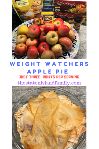 Weight Watchers Apple Pie