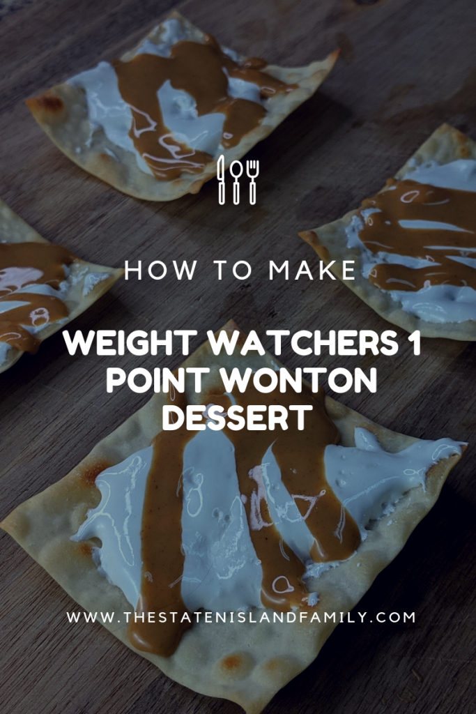 Weight Watchers Peanut Butter Marshmallow Wonton Treats are a super fast and easy snack that is low in points and satisfying on the WW FreeStyle Plan!