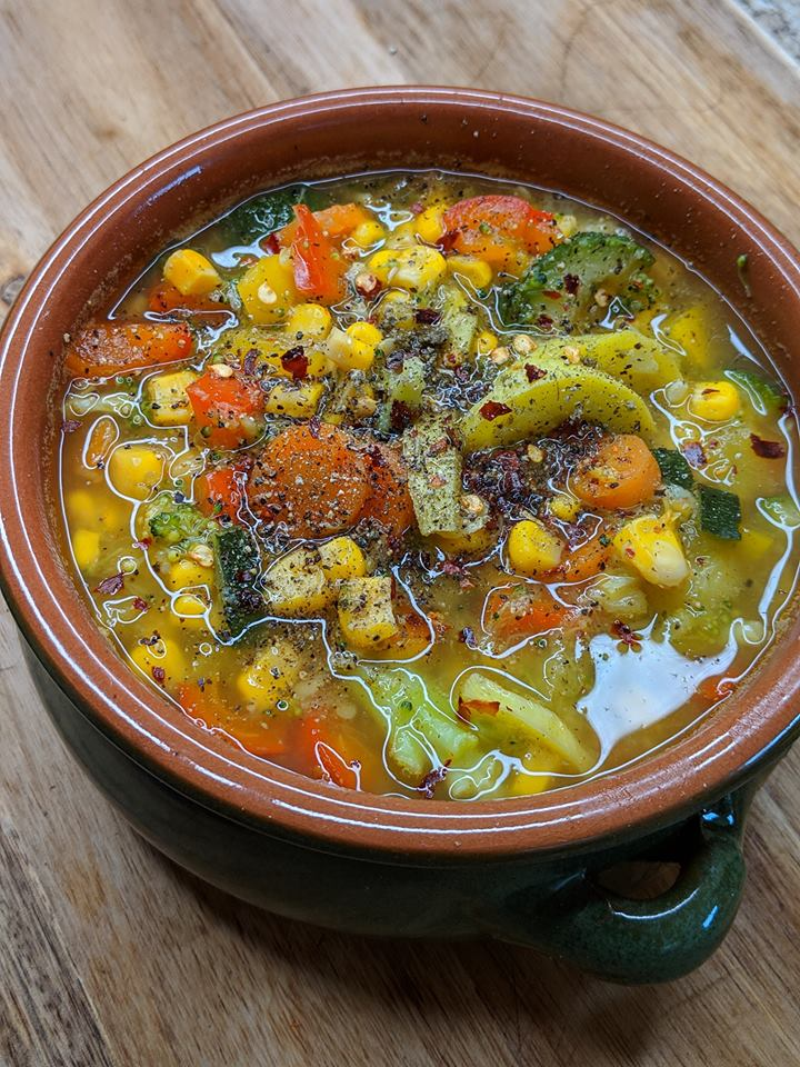 Weight Watchers Zero Point Vegetable Soup