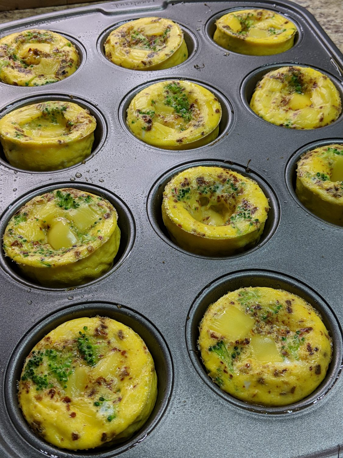 Weight Watchers Veggie Egg Cups