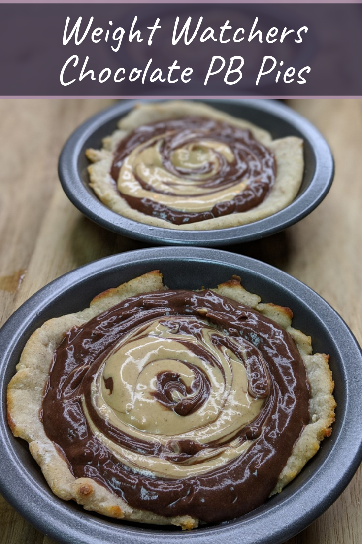 Make my Weight Watchers Peanut Butter Chocolate Pie Recipe for a 2 SmartPoint dessert on the popular WW FreeStyle Plan!  This satisfies your craving easily! A perfect 2-ingredient dough recipe that everyone loves!