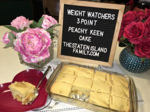 Weight Watchers Peachy Keen Cake