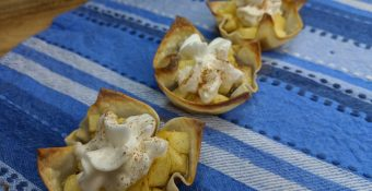 Weight Watchers Apple Wonton Desserts