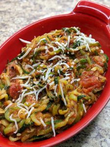 This Zucchini Spaghetti Recipe is one of Four things parents can do to kick start the best year of their children's lives!
