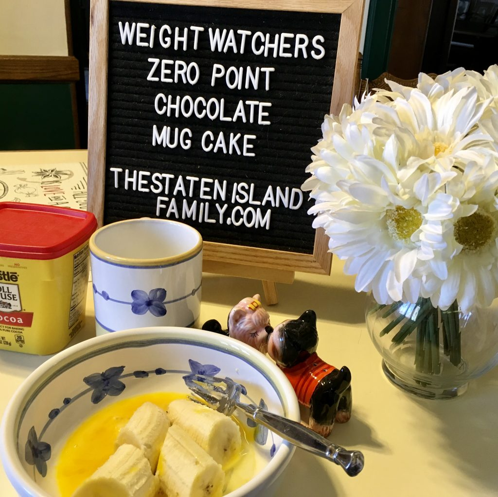This Recipe for Weight Watchers Zero Point Chocolate Mug Cake Will Add a Pep to your Step