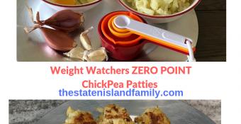 Watchers ChickPea Patties